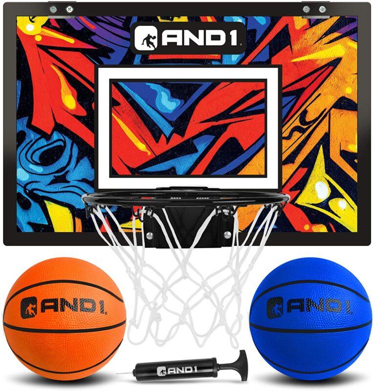 AND1 Pre-Assembled Mini Basketball Hoop