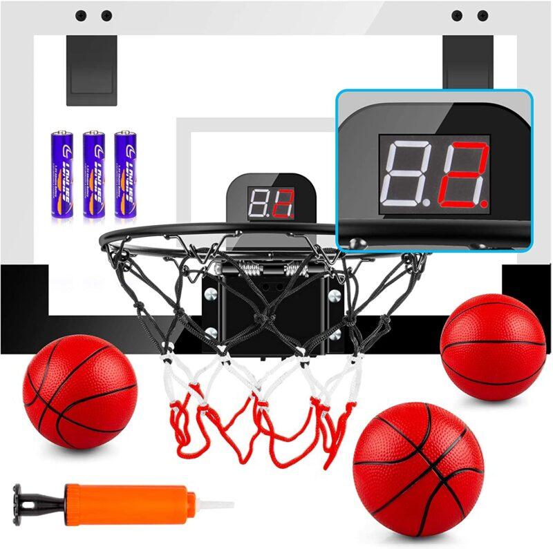 TREYWELL Indoor Mini Basketball Hoop for Kids and Adults