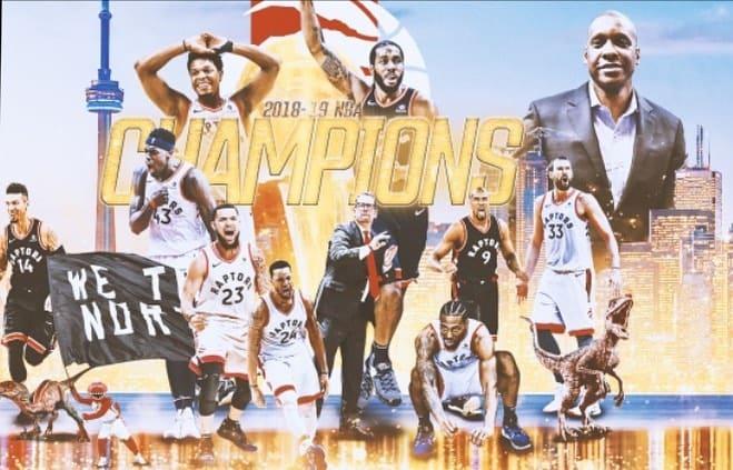 Tornoto Raptors Champions