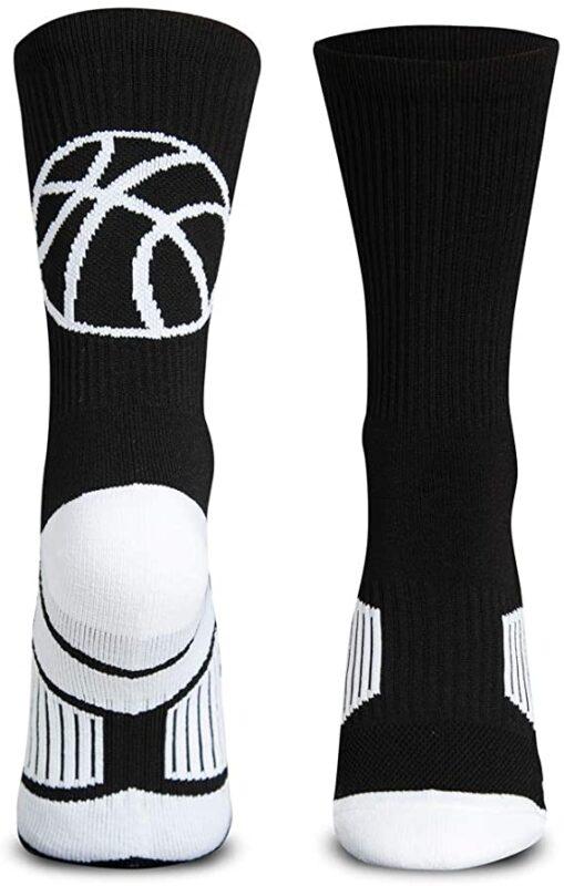 Basketball Woven Mid-Calf Socks