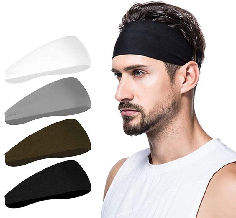 Poshei Mens Headband (4 Pack)