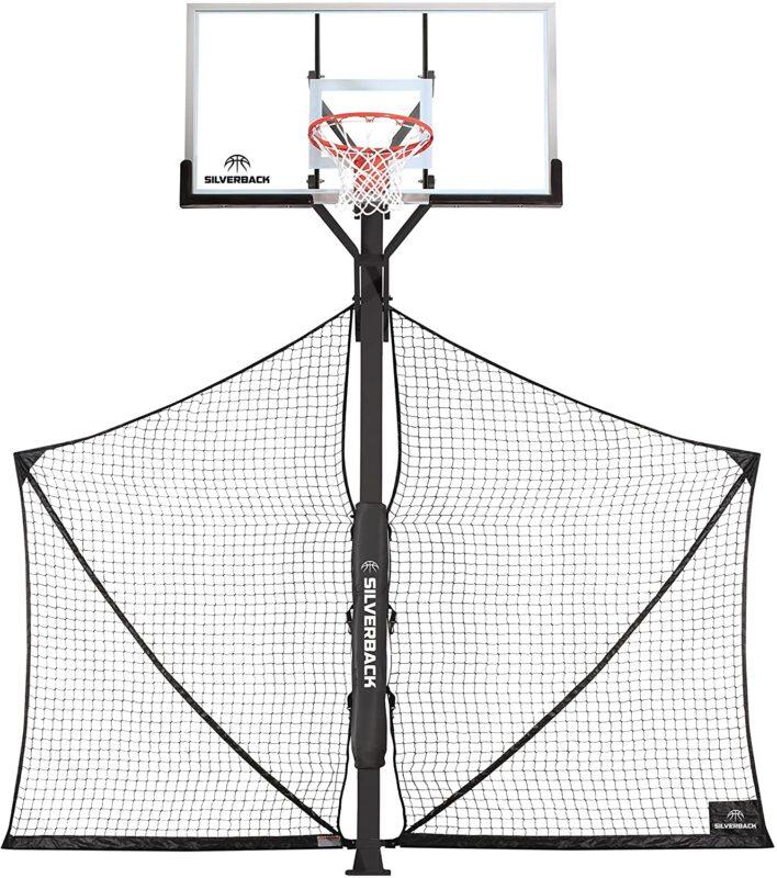 Silverback Basketball Yard Guard Defensive Net System Rebounder