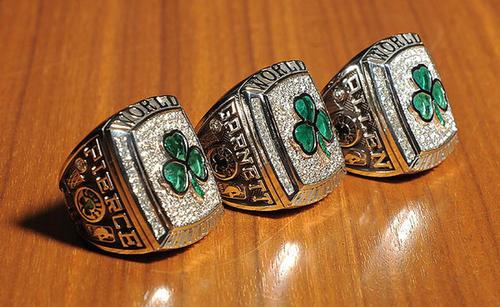 Boston Celtics Rings
